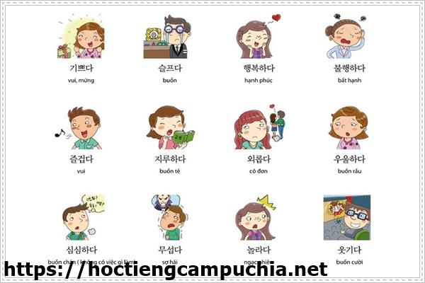 Học tiếng Hàn dễ dàng với hình ảnh
